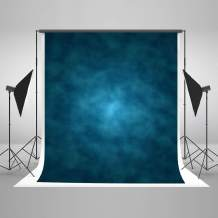 Kate 8x8ft Blue Abstract Photography Backdrop Old Master Blue Background Studio Portrait Backdrops