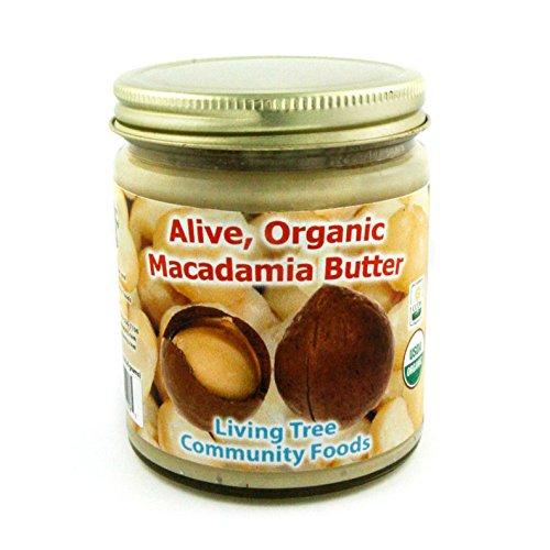 Living Tree Alive Organic Macadamia Butter - 8 Ounce