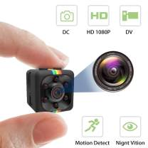 Mini Hidden Camera Spy Cam Wireless with Video Camera Full HD 1080P Night Vision Motion Detection Support SD Card Small Wireless Hidden Cameras for Home Indoor Car Security Nanny Surveillance Cam-01