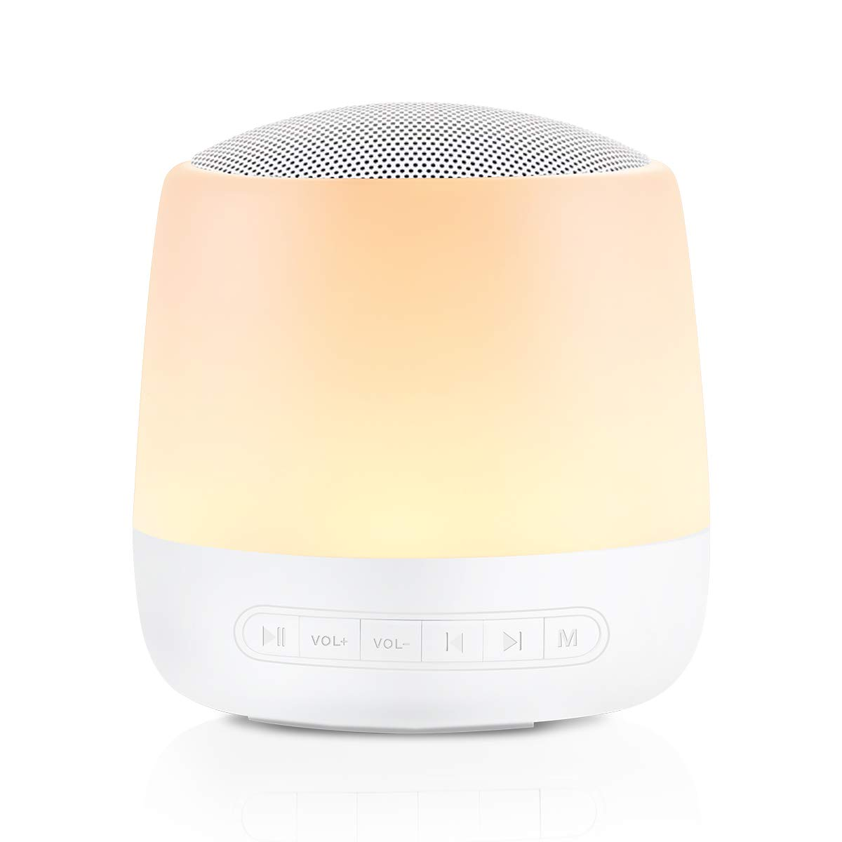 White Noise Machine Sleep Sound Machine for Baby Kid Adult with 28 Non-Looping Soothing Sounds Night Light USB Rechargeable Timer & Memory Feature Noise Machine for SleepingUse in Home Office Travel