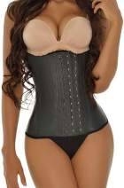 Ann Darling Women's Fajas Colombiana Latex Sport Waist Trainer Tummy Control Hourglass Corsets For Weight Loss