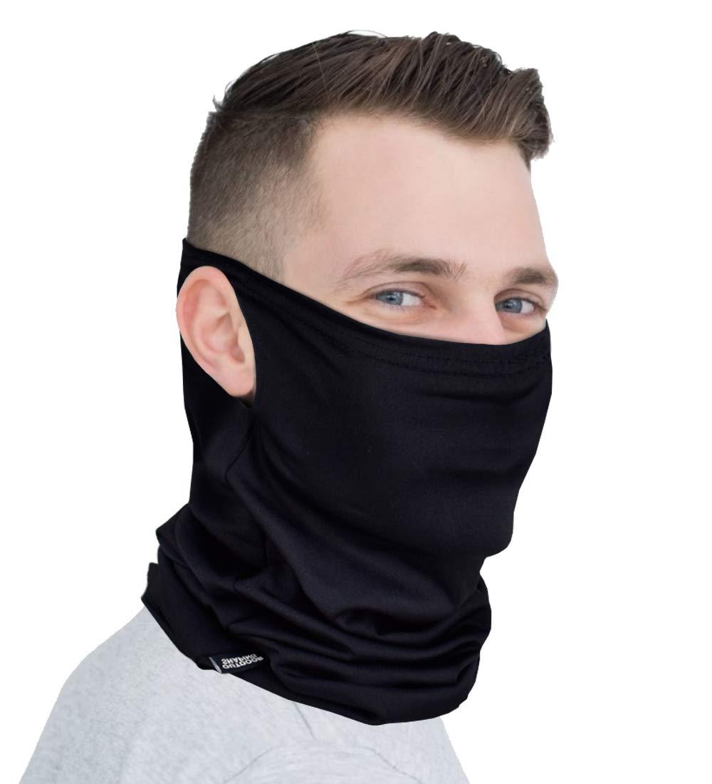 Neck Gaiter Face Mask Cover Multifunctional Running Scarf for Men Women
