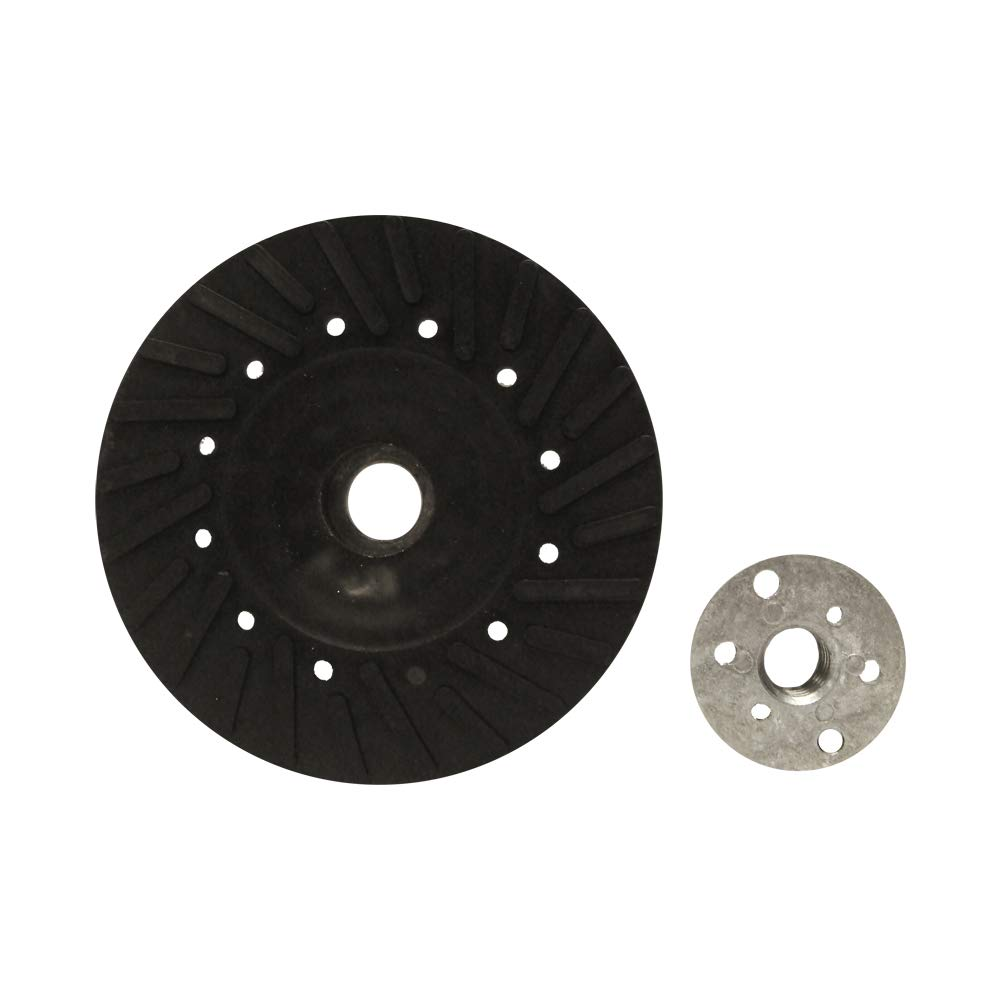 "Mercer Industries 326005 Turbo Backing Pad for Fibre Discs, 5"" X 5/8"" - 11"