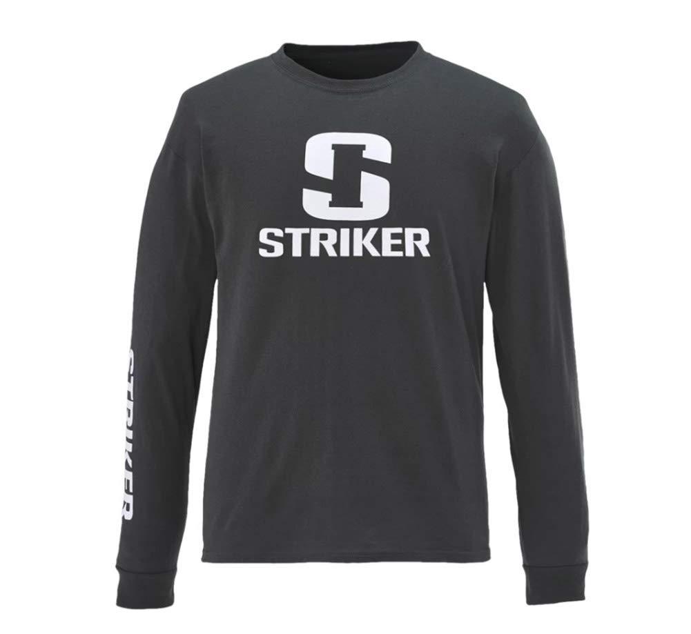 Striker Men's Casual Cotton Long Sleeve Tee Shirt