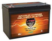 VMAX SLR100 12V 100ah Solar Battery for Camping RV Panels