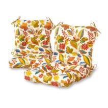 Greendale Home Fashions Outdoor Chair Cushion in Esprit, Set of 2