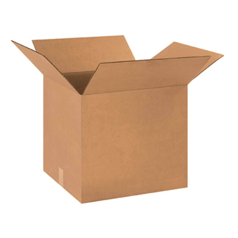 """Aviditi 181616 Corrugated Cardboard Box, 18"""" L x 16"""" W x 16"""" H, Kraft, for Shipping, Packing and Moving (Pack of 20)"""