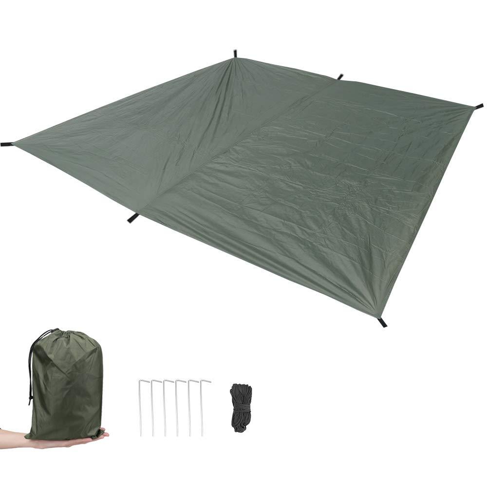 MAGARROW 9.5x9.5ft Waterproof Lightweight Camping Tent Tarp Canopy Shelter Footprint Ground Sheet Beach Mat