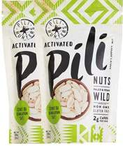 Pili Hunters Pili Nuts, AS SEEN ON SHARK TANK, Himalayan Salt and Coconut MCT Oil, The Original Wild Sprouted Pili Nut, Perfect Keto Friendly Snack, Vegan, Paleo and Keto, Two 1.85 Ounce Bags