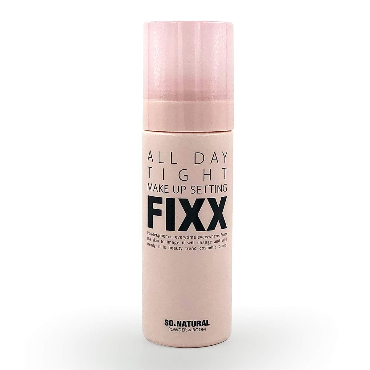 """SO NATURAL Face Makeup Setting Finishing Spray (75 ml, 2.5 oz) -""""All Day Tight Make Up Setting FIXX"""" - all day make up makeup setting fixer finishing spray"""