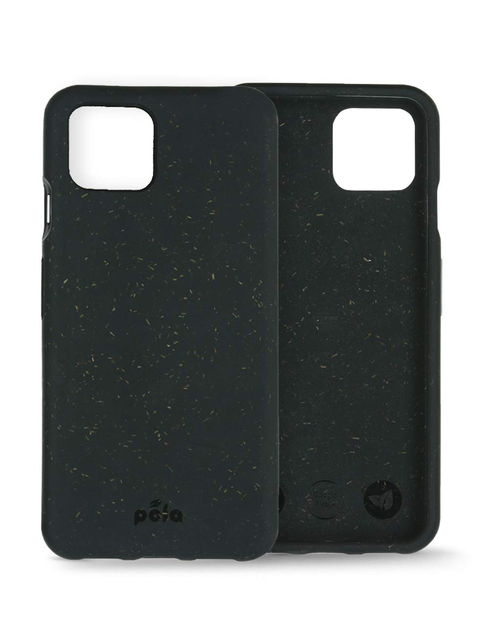 Pela: Phone Case for Google Pixel 4XL - 100% Compostable and Biodegradable - Eco-Friendly - Made from Plants (4XL Black)