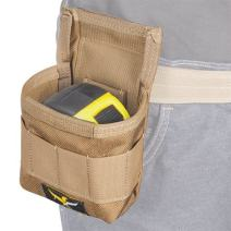 Atlas 46 AIMS Tape Measure Pouch, Coyote | Hand crafted in the USA
