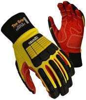 Cestus Pro Series Tow Grip LC Impact Glove, Work, Medium (Pack of 1 Pair)
