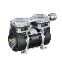 MXBAOHENG Oilless Vacuum Pump Industrial Oil Free Piston Vacuum Pump 130W 35L/min -95Kpa (220V, SY-650H)
