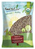 Organic Super Grains Blend, 5 Pounds — A Mix of Millet, Buckwheat, Red and White Quinoa. Non-GMO, Non-Irradiated, Vegan Superfood, Bulk