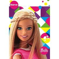Folded Loot Bags | Barbie Sparkle Collection | Party Accessory