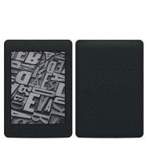 Carbon Amazon Kindle Paperwhite 2018 Full Vinyl Decal - No Goo Wrap, Easy to Apply Durable Pro