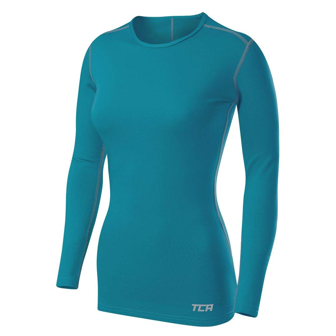 TCA Women's SuperThermal Long Sleeve Performance Base Layer Running Training Top