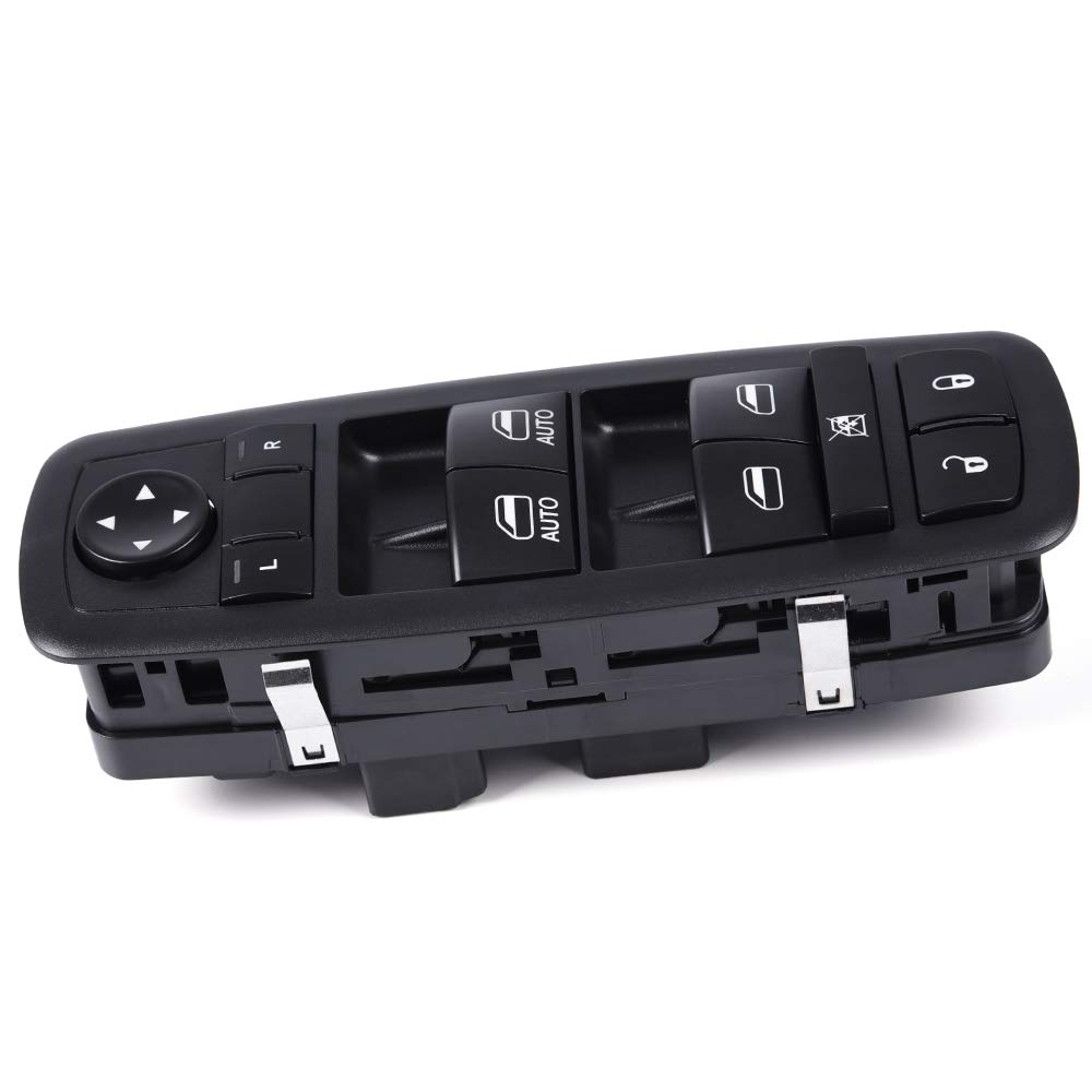 Master Power Window Switch For Dodge Ram 1500 2500 3500 4500 5500 C/V 2013-2015 / Chrysler Town & Country 2012-2015 / Grand Caravan 2012-2015 Replace 68110866AB, 68110866AA