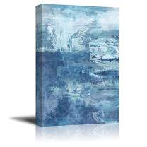 "wall26 - Abstract Blue Artwork Gallery - Canvas Art Wall Decor - 24""x36"""