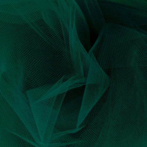 Falk Fabrics 108'' Apparel Grade Tulle Jade Fabric Fabric by the Yard