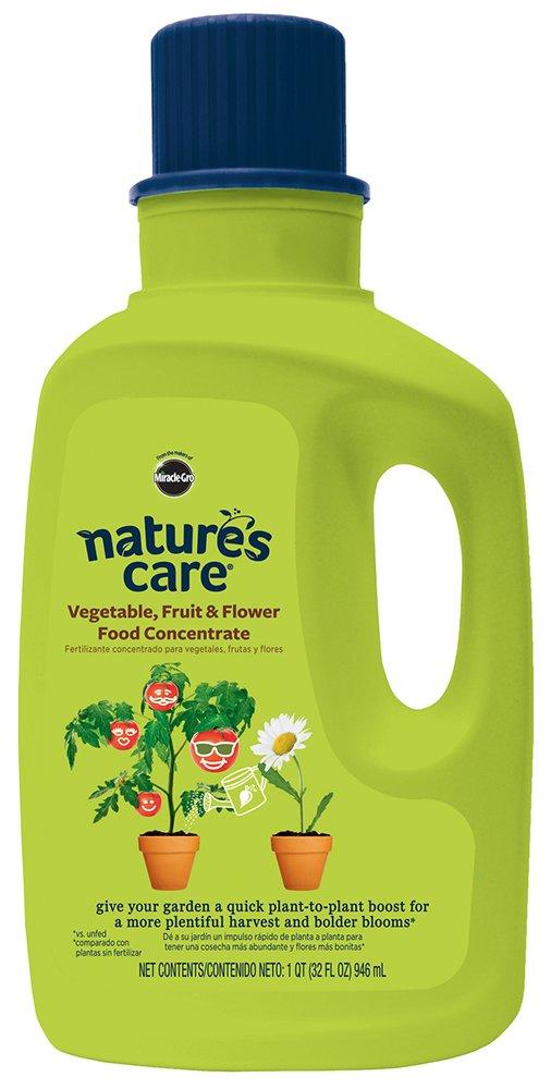 Nature's Care Vegetable, Fruit & Flower Food Concentrate (Liquid), 32 oz.