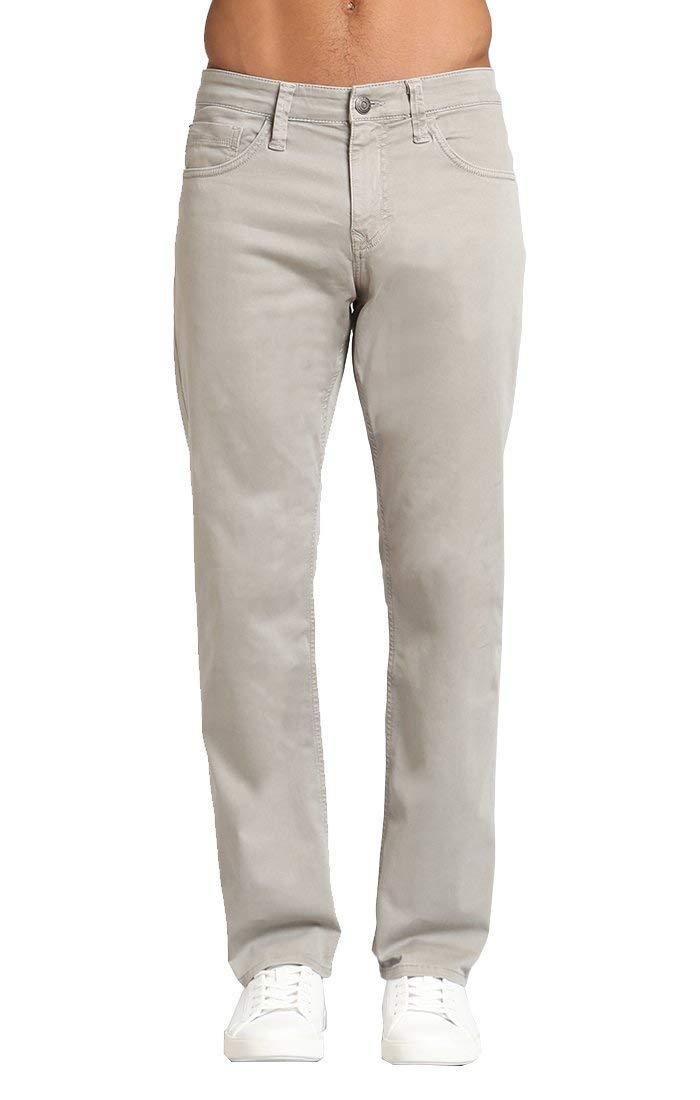 Mavi Men's Matt Traditional Medium Rise Relaxed Straight-Leg Pants