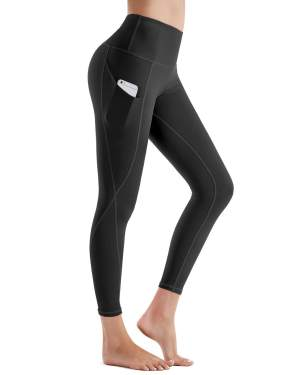 Tummy Control Workout Pants for Women ESPIDOO Womens High Waisted Yoga Pants 4 Way Stretch Leggings with Pockets
