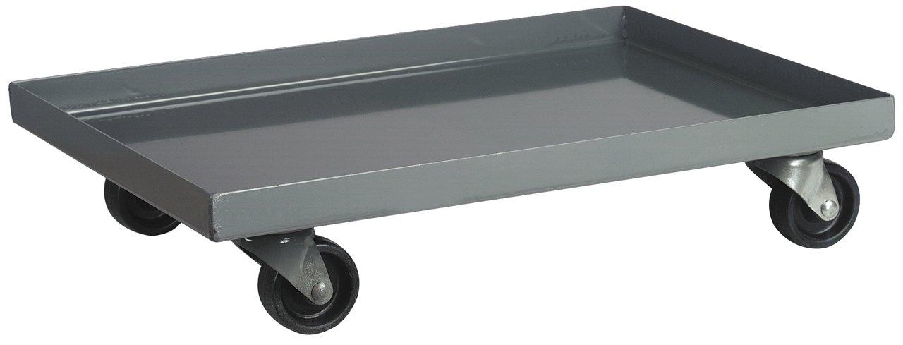 "Akro-Mils AC803618M26 Powder Coated Steel Panel Dolly for 36"" x 18"" Bin Cabinets - Grey"
