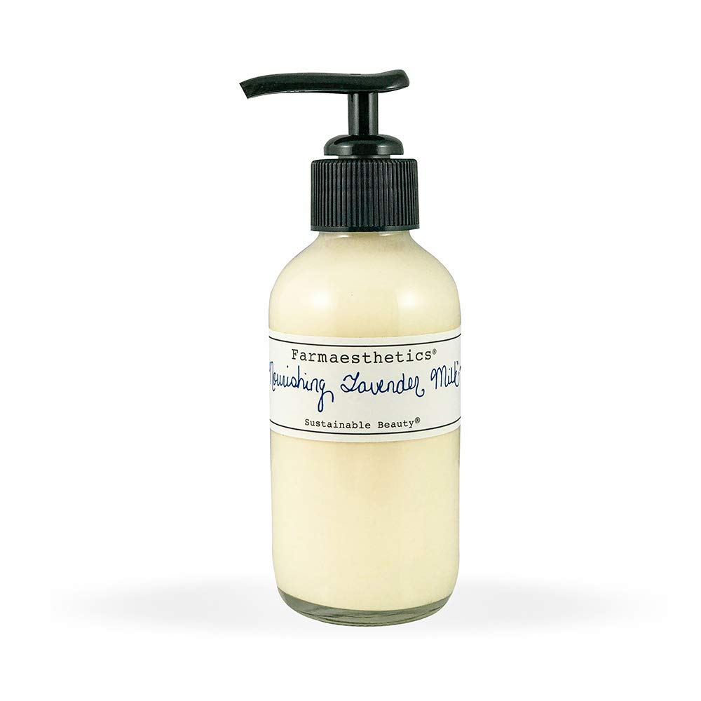Farmaesthetics Nourishing Lavender Milk Face and Body Lotion 4 oz