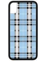 Wildflower Limited Edition Cases for iPhone XR (Blue Plaid)