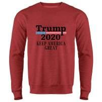 Donald Trump 2020 Pro Trump MAGA Merchandise USA Crewneck Sweatshirt for Men