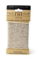 Hemptique Hemp Rope Card - Made with Love -Plant Hanger - Scrapbooking – Gardening – Macramé – Home Decor (Natural, 4mm)