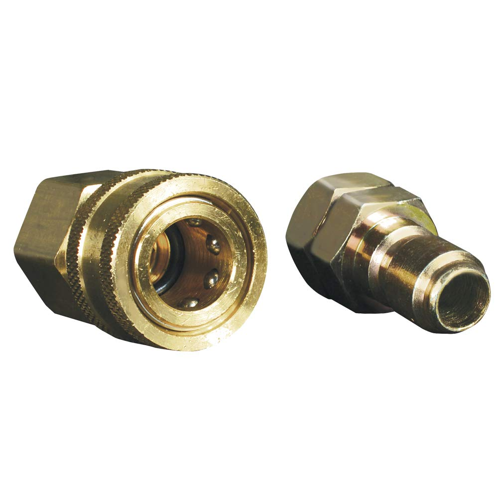 """Apache 98441024 3/8"""" Quick Disconnect Pressure Washer Adapter Set"""