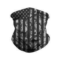 Seamless Rave Face Mask Bandana Dust Wind UV Sun, Neck Gaiter Tube Mask Headwear, Motorcycle Women Men Face Scarf