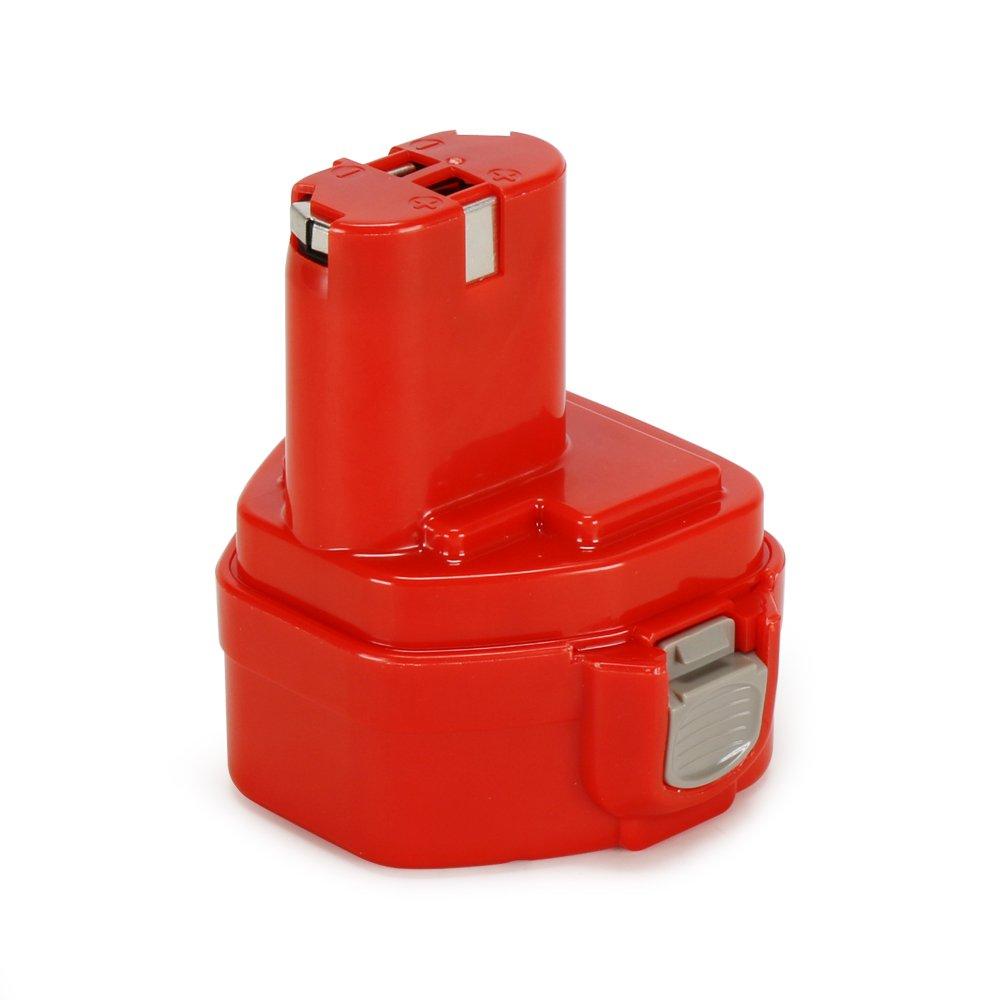 POWERAXIS 1222 12V 3.0Ah Ni-MH Replacement Battery for Makita 1222 1233, 1234, 1220, PA12, 1235, 1235B, 1235F, 192696-2, 192698-8, 192698-A, 193138-9, 193157-5 Cordless Tools