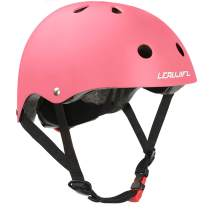 LERUJIFL Kids Helmet Adjustable from Toddler to Youth Size,Ages 3 to 8 Years Old Boys Girls Multi-Sports Safety Cycling Skating Scooter Helmet - CSPC Certified for Safety