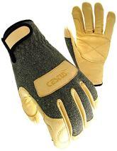Cestus Welder Series WeldTech 1600C Flame Resistant Welding Glove, Work, Cut Resistant, 2X-Large (Pack of 1 Pair)