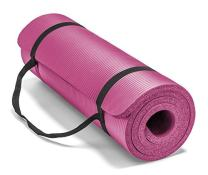 Spoga Premium 1/2-Inch Extra Thick High Density Exercise Yoga Mat with Carrying Strap