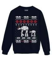 Star Wars at-at Men Women at at Walker Holiday Ugly Christmas Sweatshirt
