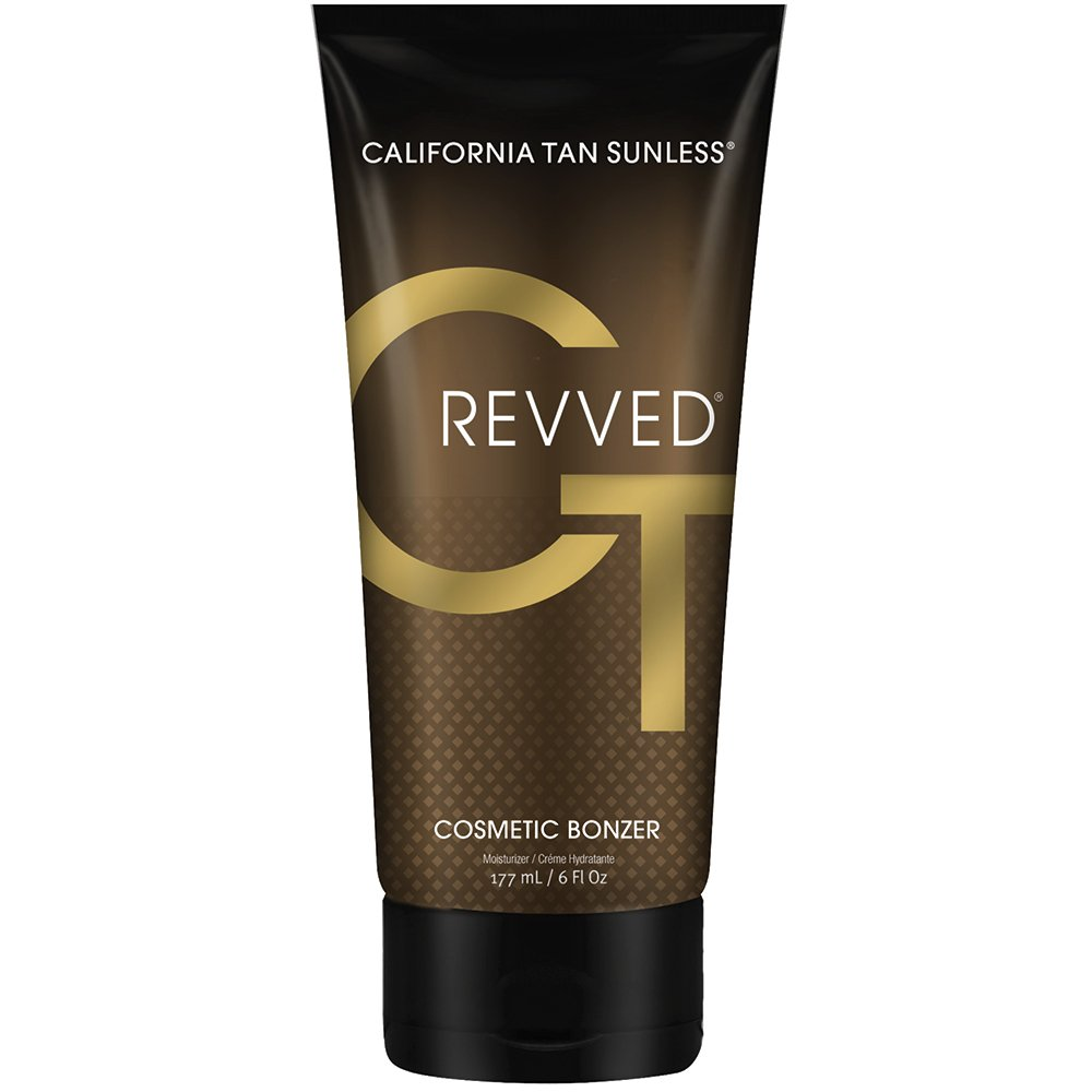 California Tan Revved Cosmetic Tanning Bronzer, 6 Ounce | Competition Ready Bronzer | Cruelty Free