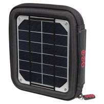 Voltaic Systems Milliamp Portable Solar Charger with Battery Pack (6,400mAh) - Silver