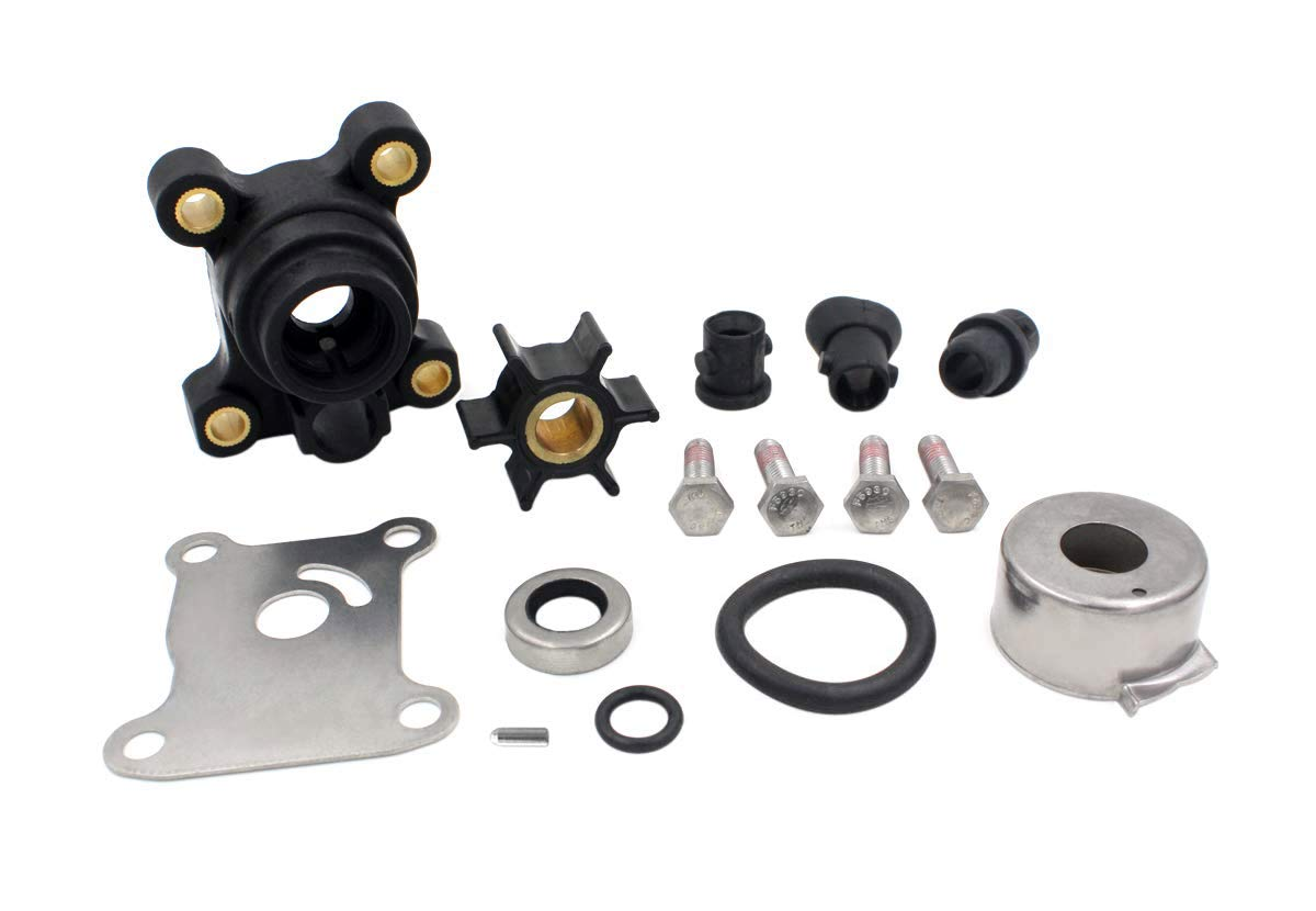 UANOFCN Impeller Water Pump Repair Kit for Johnson Evinrude 394711 0394711 18-3327 9.9-15 HP Outboard Water Pump Kit with Housing