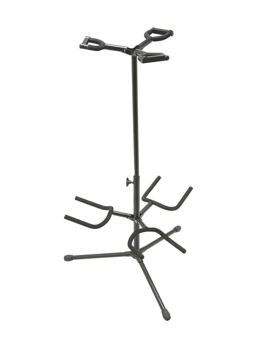 On-Stage GS7321BT Deluxe Folding Triple Guitar Stand