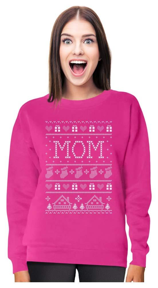 Mom Ugly Christmas Sweater Funny Xmas Gift for Mother Women Sweatshirt