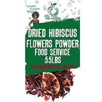 GlutenFree, Hibiscus Flower Powder 55 Pounds, Kosher Certified (Hibiscus Sabdariffa Flower Powder,Dry Roselle Powder) Non GMO, No Preservative…