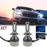 Xotic Tech Dual Color H7 LED Headlight Bulbs for RAM ProMaster 1500 2500 3500 2014-2017