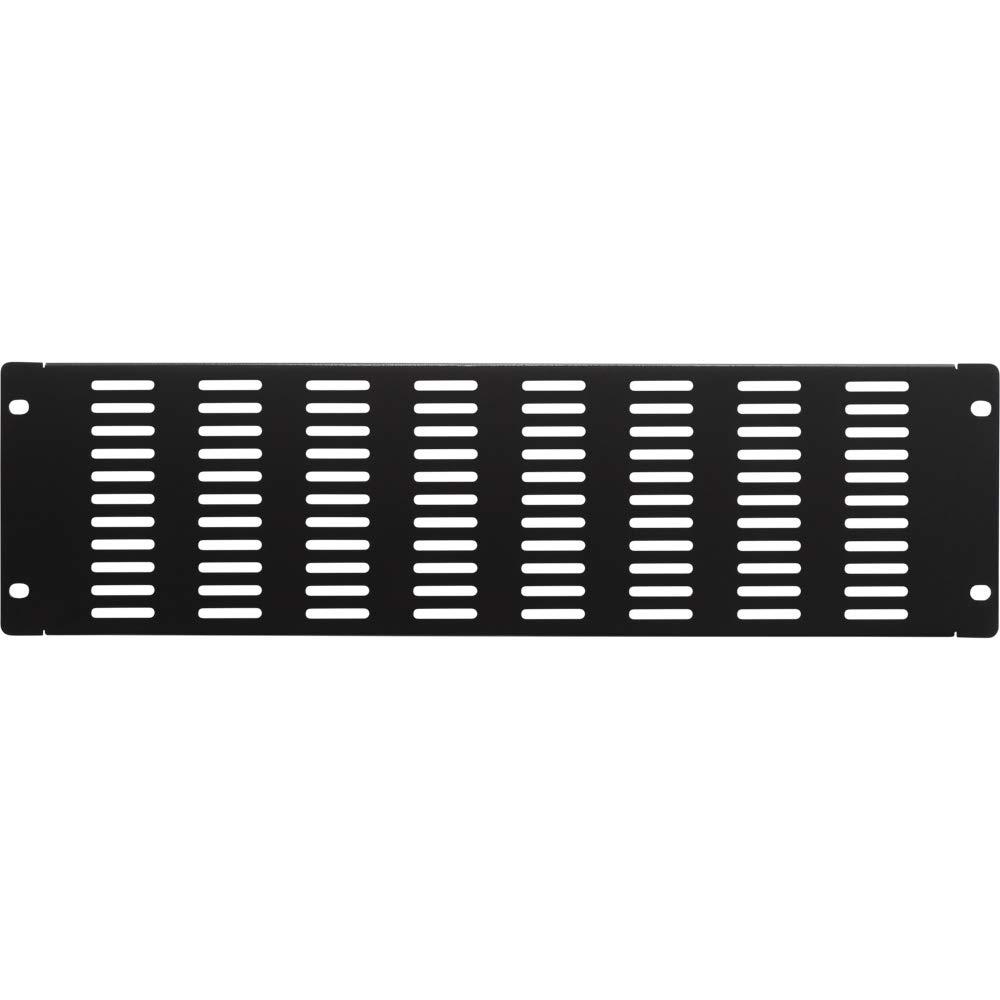NavePoint 3U Blank Rack Mount Panel IT Server Network Spacer Slotted Venting