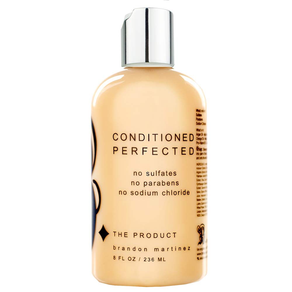Argan Oil Hair Conditioner For Dry And Damaged Hair, 100% Pure French Argan Oil For Moisture With Pro Vitamin B, Sodium Chloride Free B THE PRODUCT (8.5oz)