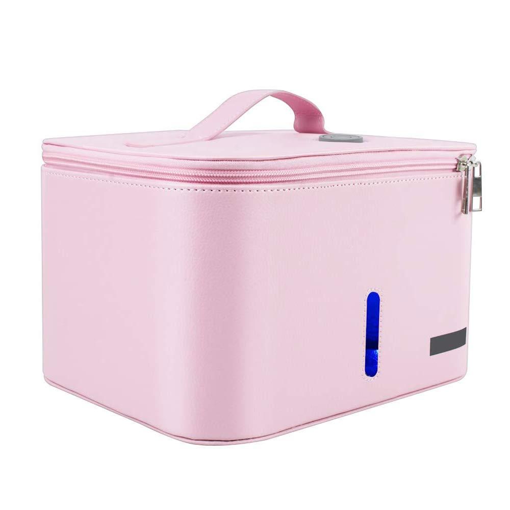 Portable USB LED UV Sterilizer Bag Sanitizer Bag for Cell Phone Baby Clothes Bottle Toy Sterilizer Bag for Hotel Travel Home DHL Shipping 3-10 Days Delivery